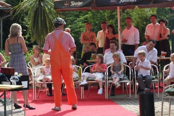 Clown Alleinunterhalter Unterhaltungskunstler Leipzig